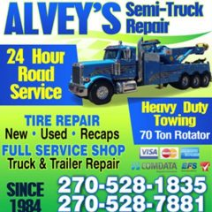 alvey's towing & recovery llc