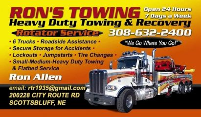 ron's towing and storage