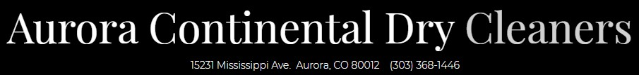 aurora continental dry cleaners