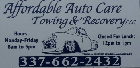 affordable auto care towing & recovery llc