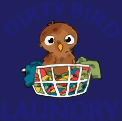 dirty bird laundry - madera