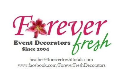 forever fresh wedd decorating