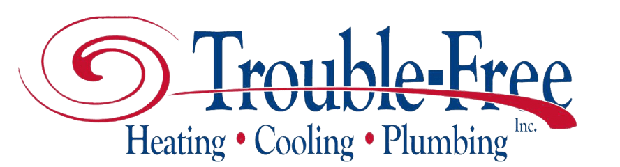 trouble-free plumbing heating & cooling inc.