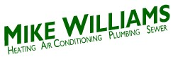 mike williams plumbing, heating & air conditioning, inc.