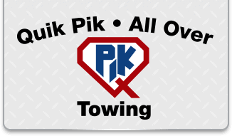 all over / quik pik towing