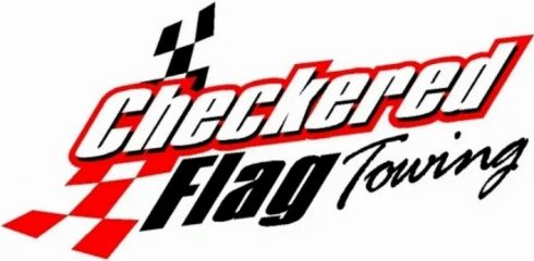 checkered flag towing