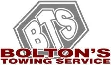 bolton's towing service