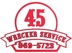 45 wrecker service