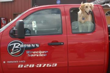 brown's wrecker service inc