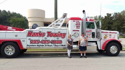 hank's towing service - pell city