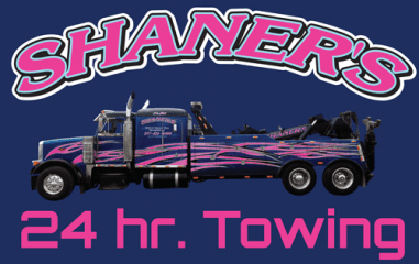 shaner's 24 hour towing inc.
