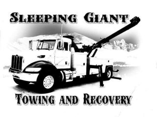 sleeping giant towing and recovery llc