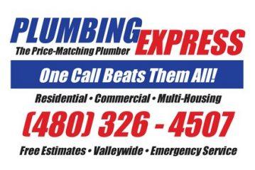 plumbing express - tempe