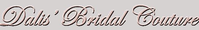 Dalis Bridal Couture