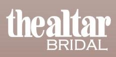 the altar bridal - barrington
