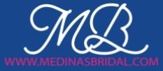 medina's bridal shop