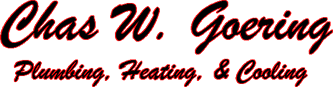 chas w. goering plumbing, heating, & cooling