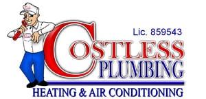 costless plumbing heathing & air