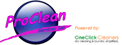 proclean services inc. dry cleaning & laundry service