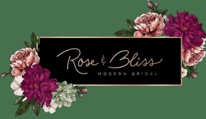 rose & bliss modern bridal