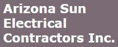 arizona sun electrical contractors