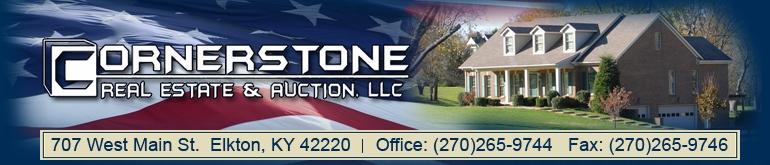 cornerstone real estate & auction