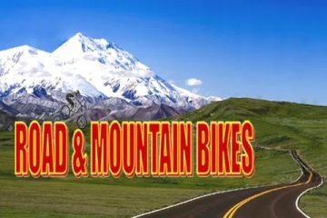 road & mountain bikes