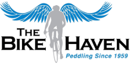 the bike haven on the historic woodstock square
