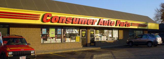 consumer auto parts - waterbury