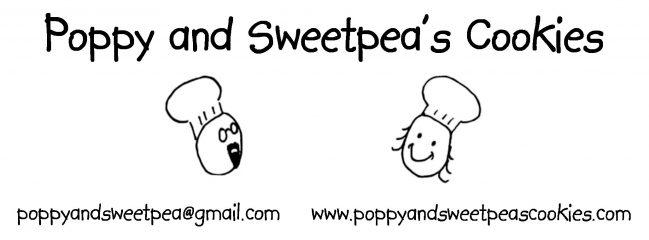 poppy and sweetpea's cookies