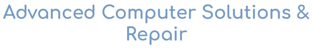 advanced computer solutions & repair