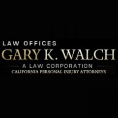 law offices of gary k. walch, injury attorneys